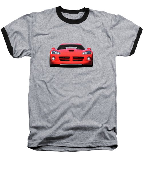 Dodge Viper Baseball T-Shirt by Mark Rogan