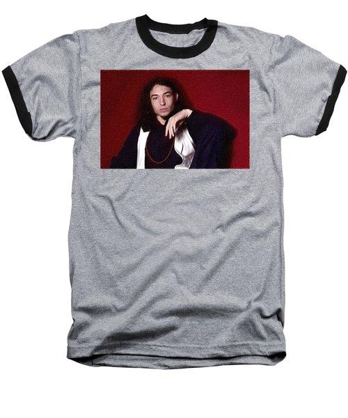 Ezra Miller Poster Baseball T-Shirt by Best Actors