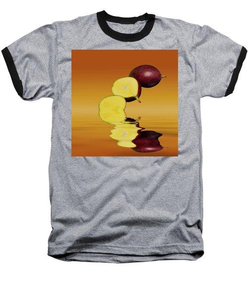 Fresh Ripe Mango Fruits Baseball T-Shirt by David French