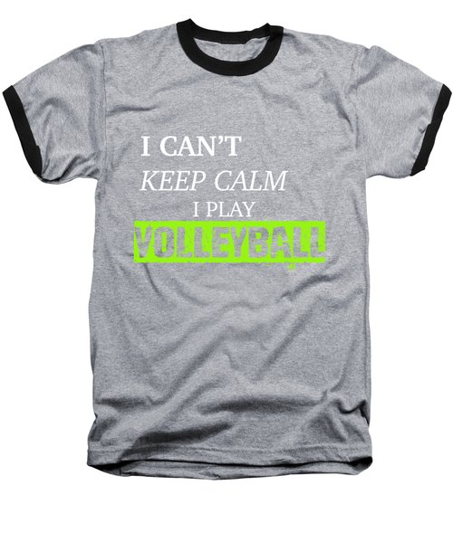 I Play Volleyball Baseball T-Shirt by Meli Mel