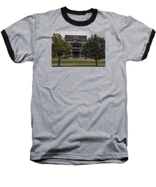 Penn State Beaver Stadium  Baseball T-Shirt by John McGraw
