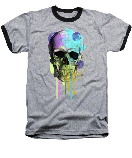 Halloween Baseball T-Shirt by Mark Ashkenazi