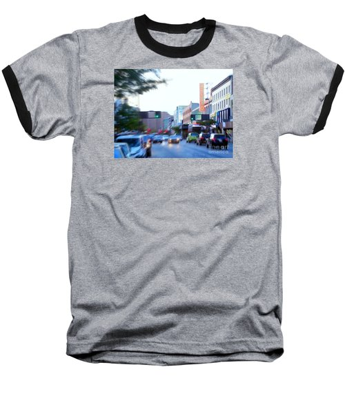 125th Street Harlem Nyc Baseball T-Shirt by Ed Weidman