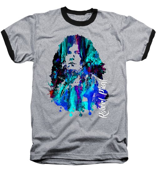 Robert Plant Collection Baseball T-Shirt by Marvin Blaine