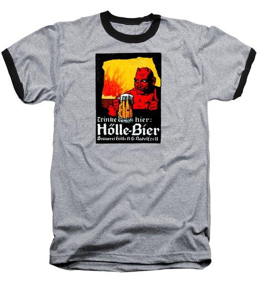 1905 German Beer Poster Baseball T-Shirt by Historic Image