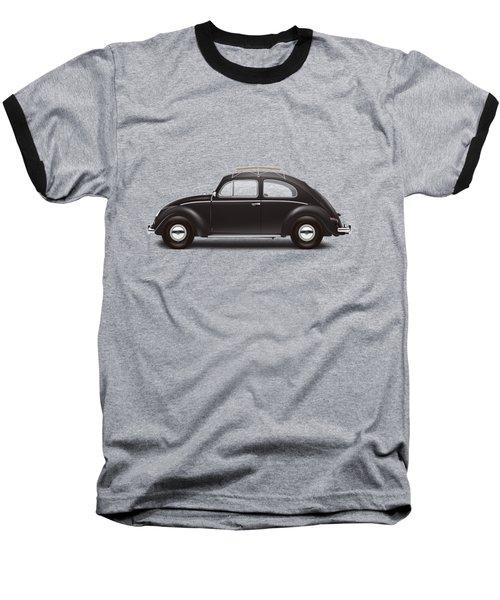 1953 Volkswagen Sedan - Black Baseball T-Shirt by Ed Jackson