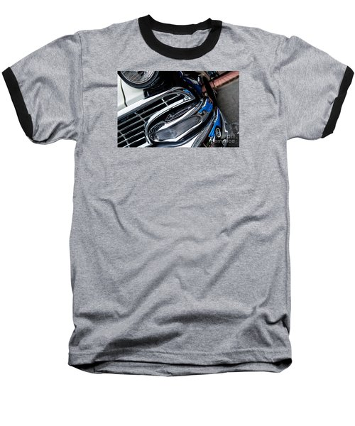 Baseball T-Shirt featuring the photograph 1958 Ford Crown Victoria Reflection 2 by M G Whittingham