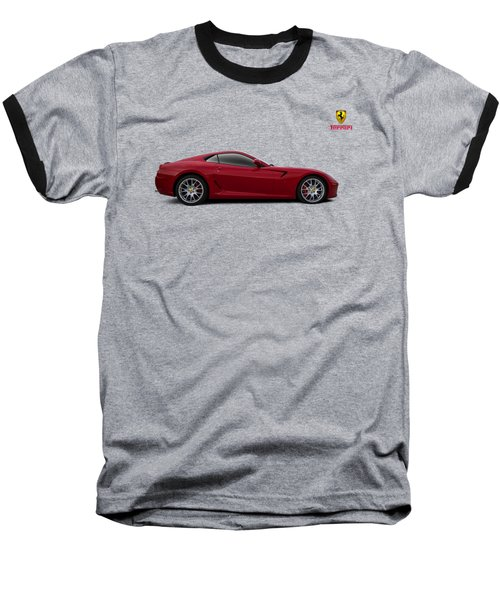 Ferrari 599 Gtb Baseball T-Shirt by Douglas Pittman