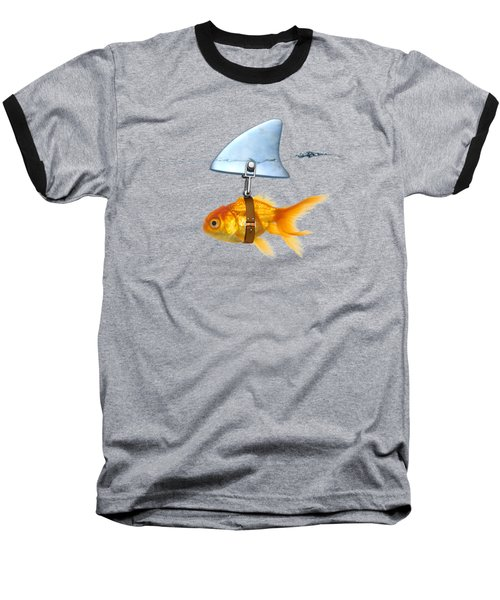 Gold Fish  Baseball T-Shirt by Mark Ashkenazi