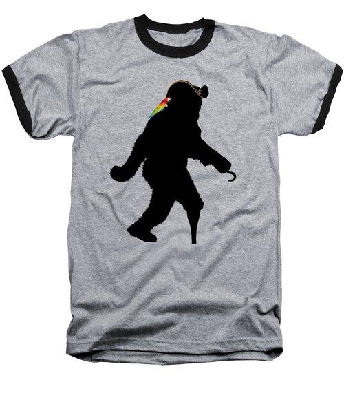 Gone Squatchin Fer Buried Treasure Baseball T-Shirt by Gravityx9  Designs