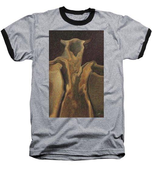 Minotaur  Baseball T-Shirt by Quim Abella