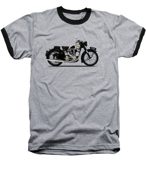 Norton Es2 1947 Baseball T-Shirt by Mark Rogan