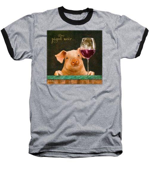 Pigot Noir... Baseball T-Shirt by Will Bullas