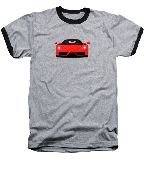 The Ferrari Enzo Baseball T-Shirt by Mark Rogan