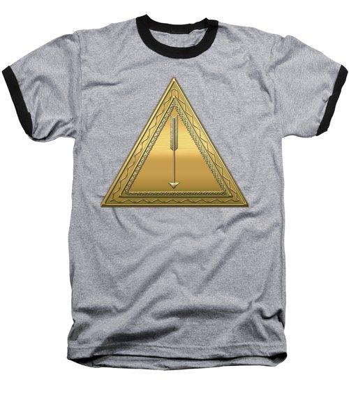 21st Degree Mason - Noachite Or Prussian Knight Masonic  Baseball T-Shirt by Serge Averbukh