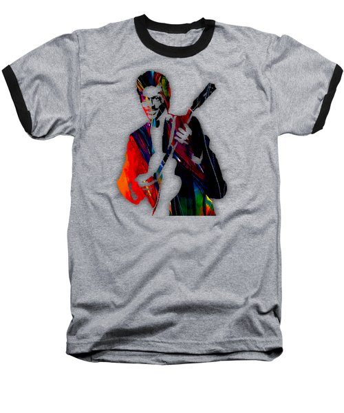 Chuck Berry Collection Baseball T-Shirt by Marvin Blaine