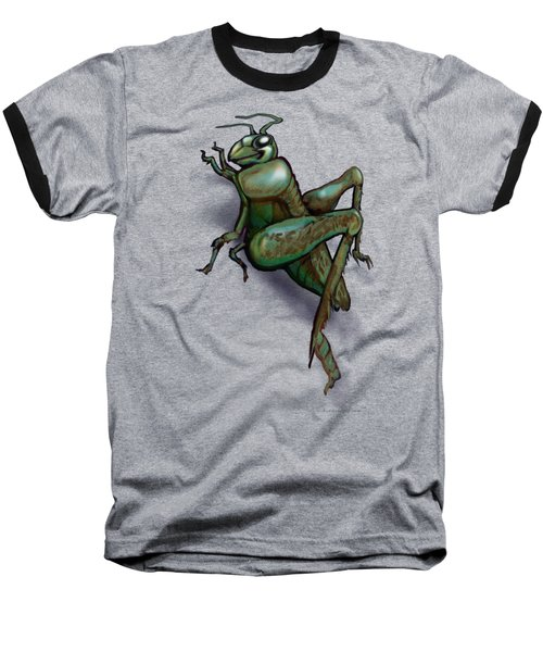 Grasshopper Baseball T-Shirt by Kevin Middleton
