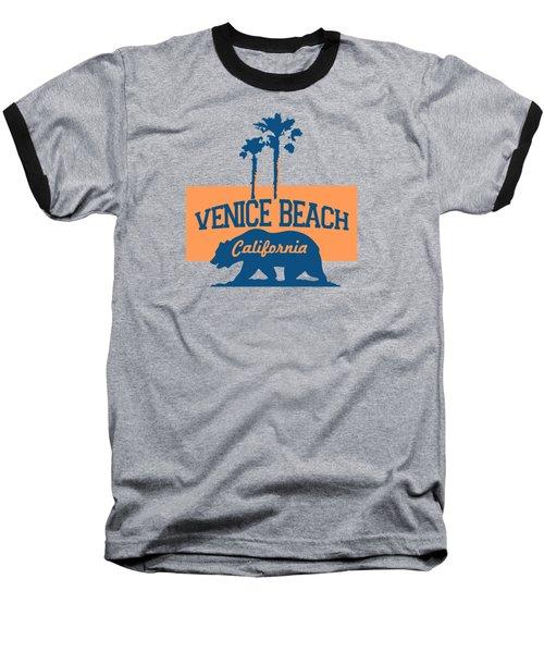 Venice Beach La. Baseball T-Shirt by Lerak Group LLC