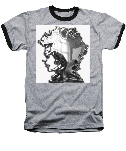 Bob Dylan Collection Baseball T-Shirt by Marvin Blaine