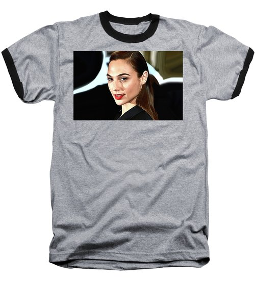 Gal Gadot Print Baseball T-Shirt by Best Actors
