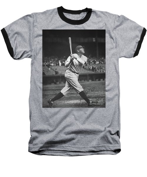 Babe Ruth  Baseball T-Shirt by American School