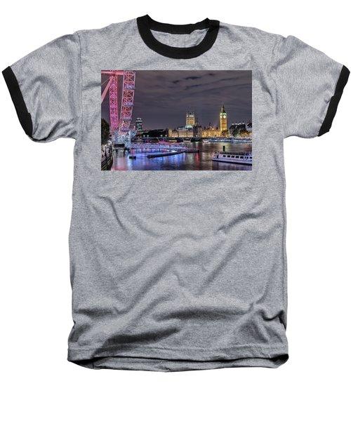 Westminster - London Baseball T-Shirt by Joana Kruse