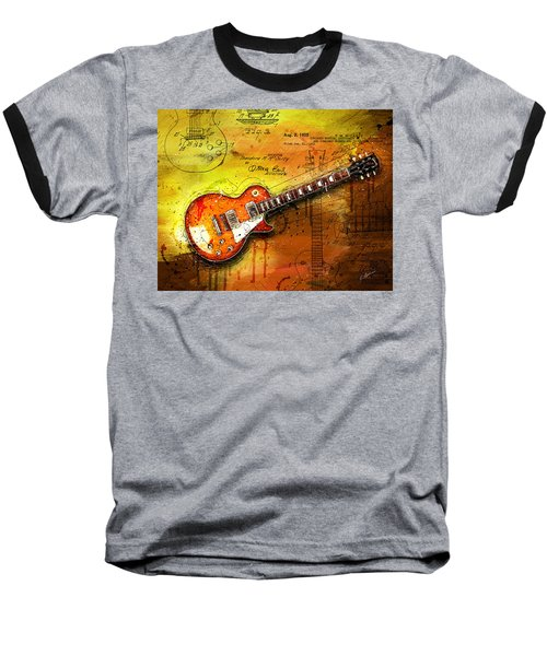 55 Sunburst Baseball T-Shirt by Gary Bodnar
