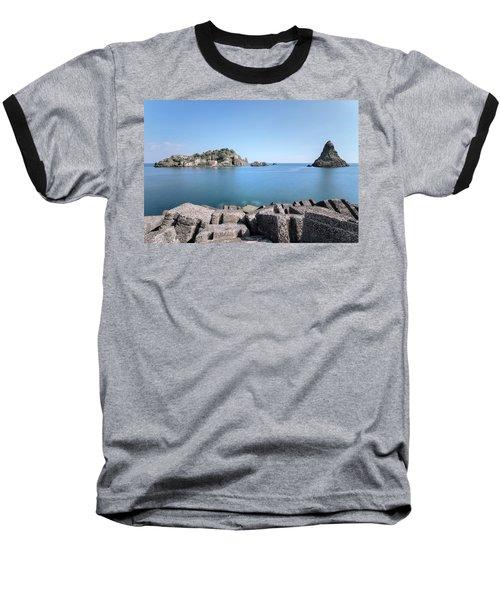 Aci Trezza - Sicily Baseball T-Shirt by Joana Kruse