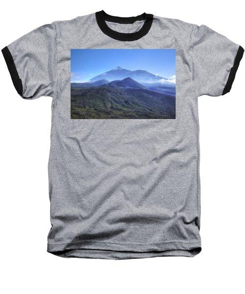 Tenerife - Mount Teide Baseball T-Shirt by Joana Kruse