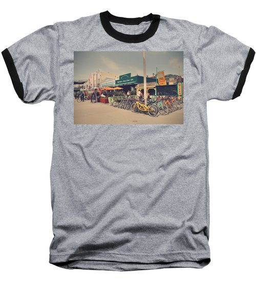A Perfect Day For A Ride Baseball T-Shirt by Laurie Search