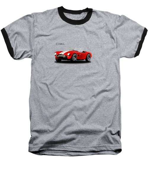Ac Cobra Mk2 1963 Baseball T-Shirt by Mark Rogan