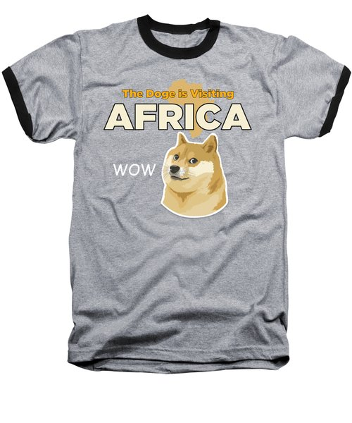 Africa Doge Baseball T-Shirt by Michael Jordan