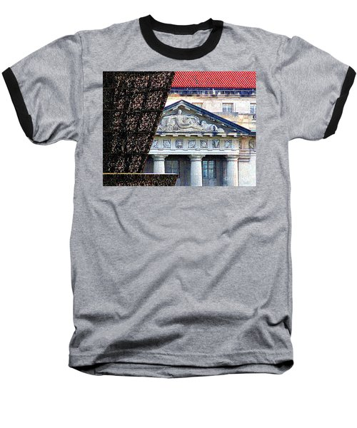 African American History And Culture 5 Baseball T-Shirt by Randall Weidner