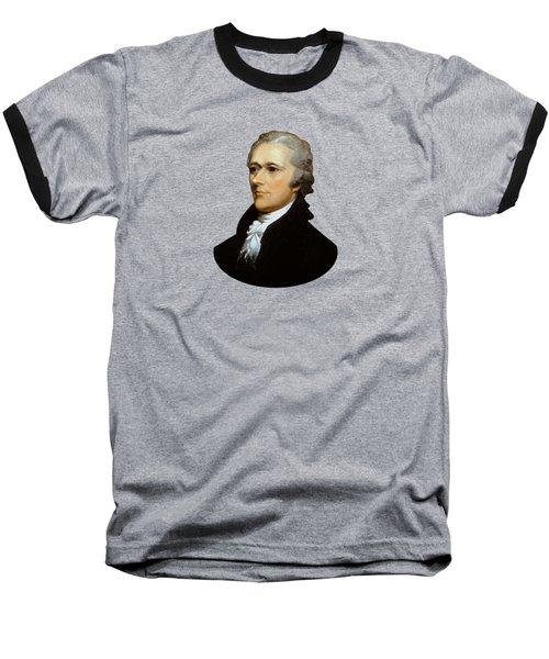 Alexander Hamilton Baseball T-Shirt by War Is Hell Store