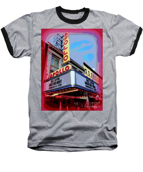 Amateur Night At The Apollo Baseball T-Shirt by Ed Weidman