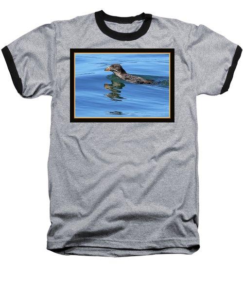 Angry Bird Baseball T-Shirt by BYETPhotography