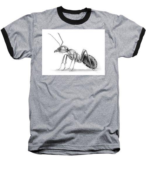 Ant Baseball T-Shirt by Greg Joens