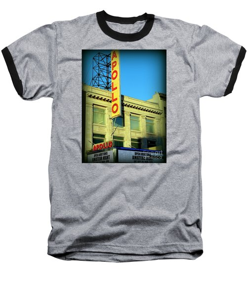 Apollo Vignette Baseball T-Shirt by Ed Weidman