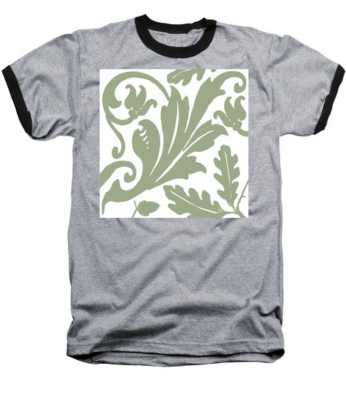 Arielle Olive Baseball T-Shirt by Mindy Sommers