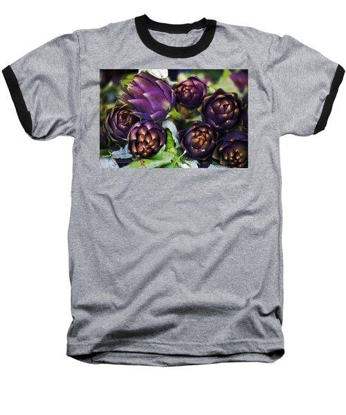 Artichokes  Baseball T-Shirt by Joana Kruse