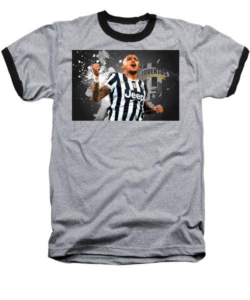 Arturo Vidal Baseball T-Shirt by Semih Yurdabak