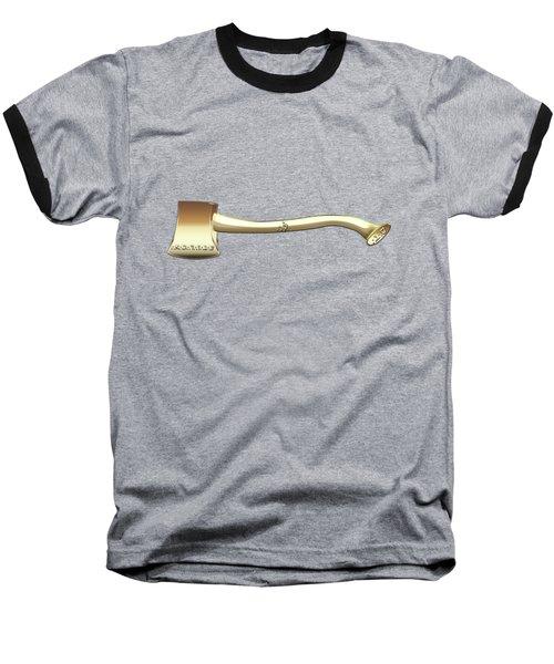 22nd Degree Mason - Knight Of The Royal Axe Masonic Jewel  Baseball T-Shirt by Serge Averbukh
