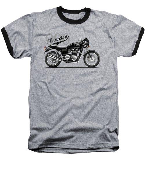 Triumph Thruxton Baseball T-Shirt by Mark Rogan