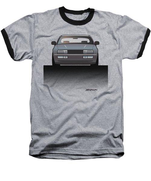 Modern Euro Icons Series Vw Corrado Vr6 Baseball T-Shirt by Monkey Crisis On Mars