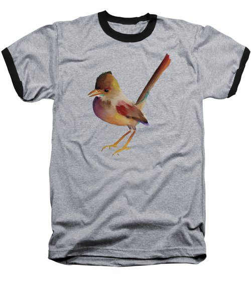 Wren Baseball T-Shirt by Francisco Ventura Jr