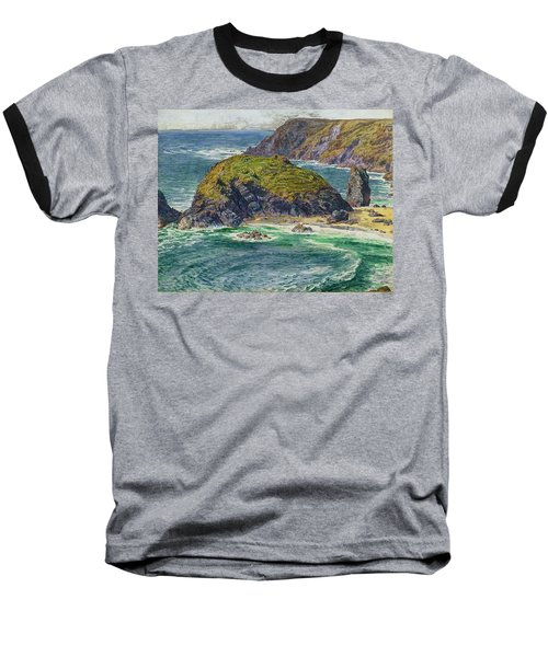 Asparagus Island Baseball T-Shirt by William Holman Hunt