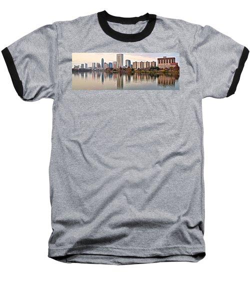 Austin Elongated Baseball T-Shirt by Frozen in Time Fine Art Photography