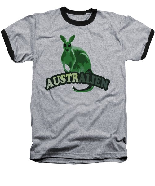 Australian Baseball T-Shirt by Voldemaras Lemon