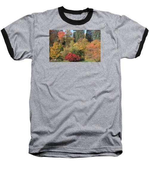 Baseball T-Shirt featuring the photograph Autumn In Baden Baden by Travel Pics