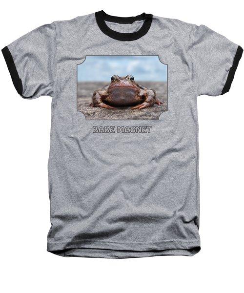 Babe Magnet Baseball T-Shirt by Gill Billington
